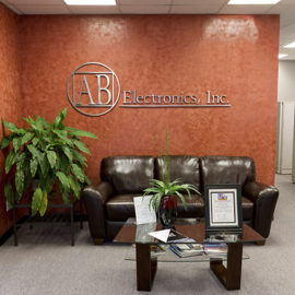 AB Electronics Lobby Photo - Brookfield CT