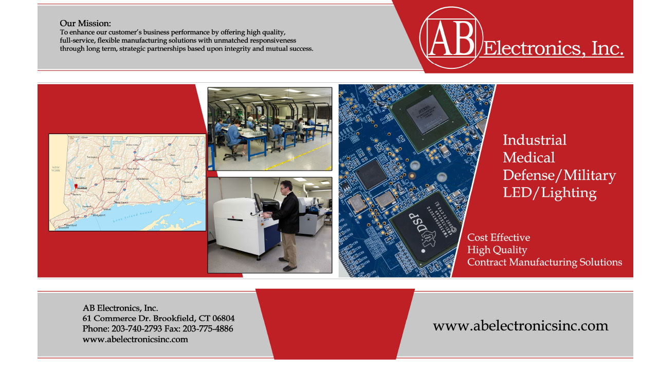 AB Electronics Brochure Download Link